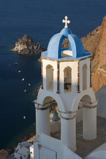 Greece and Greek Island of Santorini town of Oia by Danita Delimont