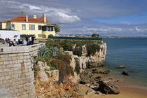 A beach in Cascais on the Estoril coast by Danita Delimont