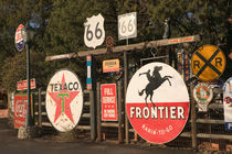 Sedona: Antique Advertising Signs Sedona Antique / Craft Market by Danita Delimont