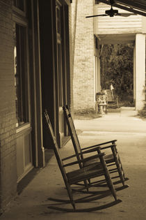 Rocking chairs by Danita Delimont