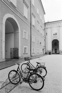 Bicycles in the Domplatz von Danita Delimont