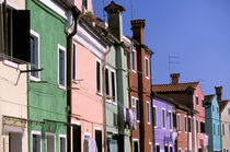 Colored houses by Danita Delimont