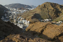 View of Ruwi / Al Hamriya from the Yiti Road / Late Afternoon by Danita Delimont