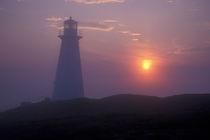Lighthouse and sunrise von Danita Delimont