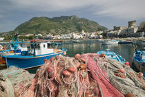 FORIO: Town View from Fishing Port / Daytime von Danita Delimont