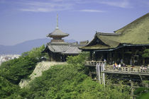 The View from Kiyomizu Temple by Danita Delimont