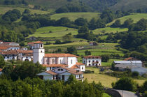 The village of Amaiur in the Baztan Valley of the Navarre region of northern Spain by Danita Delimont