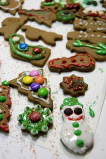 Holiday gingerbread cookies by Danita Delimont