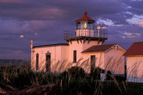 The oldest lighthouse on the Puget Sound von Danita Delimont