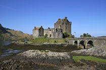 The famous Eilean Donan Castle by Danita Delimont