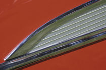 Side molding detail of red '57 Chevy von Danita Delimont