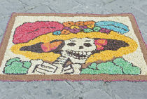 Day of the Dead Katrina Decoration by Danita Delimont