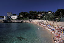 Bestouan Plage (beach) by Danita Delimont