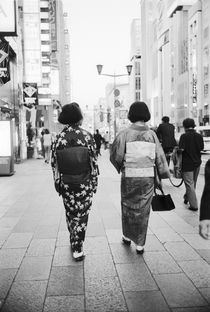 Geishas on the Ginza by Danita Delimont