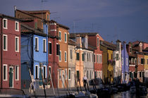 Colored houses in Murano Island by Danita Delimont