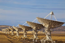 Very Large Array aka National Radio Astronomy Observatory in Sorocco county New Mexico by Danita Delimont