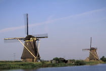 Kinderdijk windmills by Danita Delimont