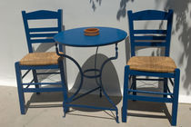 Kos: table and chairs by Danita Delimont