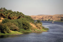 Nile River between Luxor and Aswan by Danita Delimont