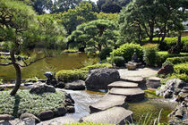 The Japanese Garden at the New Otani Hotel in Tokyo by Danita Delimont