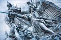 Detail of a heroic sculpture on the Arc de Triomphe by Danita Delimont