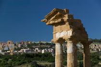 The Temple of Castor & Pollux (5th century BC) (Tempio de Castore e Polluce o dei Dioscuri) by Danita Delimont
