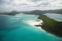 Aerial View of Whitehaven Beach von Danita Delimont