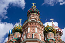 Basil's Cathedral (aka Pokrovsky Sobor or Cathedral of the Intercession of the Virgin on the Moat) by Danita Delimont