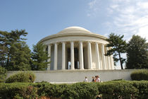 Thomas Jefferson Memorial von Danita Delimont