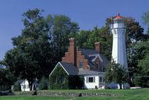 Port Sanilac Lighthouse von Danita Delimont