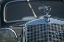 Antique mercedes by Danita Delimont
