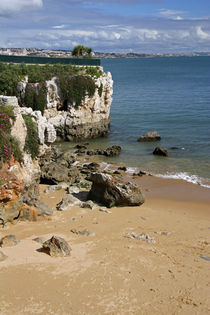 A beach in Cascais on the Estoril coast von Danita Delimont