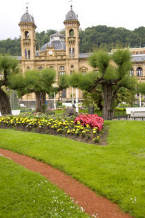 Park view of historic casino von Danita Delimont