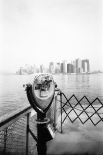 NEW YORK: New York City Scenic Viewer aboard the Staten Island Ferry by Danita Delimont