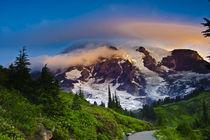 Rainier along the Skyline Trail by Danita Delimont