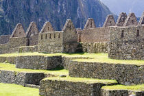 Stonework in the lost Inca city of Machu Picchu von Danita Delimont