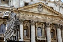 Peter's Basilica (aka Basilica di San Pietro) by Danita Delimont