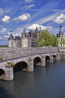The largest chateau in the Loire Valley in France von Danita Delimont