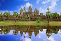Angkor Wat temple by Danita Delimont