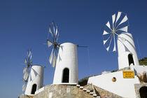 Ano Kera: Traditional Cretan Windmills by Danita Delimont