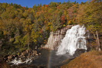 Rainbow Falls in Gorges State Park in North Carolina by Danita Delimont