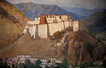 Potala wall painting by Danita Delimont