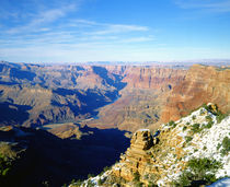 Grand Canyon from South Rim in winter by Danita Delimont