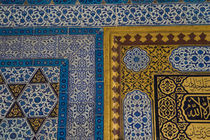 Middle East Turkey and city of Istanbul with the Topkapi Palace and all of the fine tile by Danita Delimont