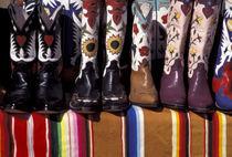 Cowboy boots detail von Danita Delimont