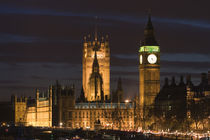 London: Houses of Parliament / Evening von Danita Delimont