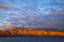 Morning light greets the Sierra de la Giganta Mountain Range along the Gulf of California near Loreto Mexico by Danita Delimont