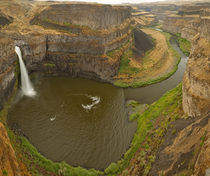 200 foot high Palouse Falls State Park in Washington by Danita Delimont