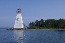 Baddeck lighthouse by Danita Delimont