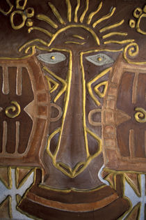 Fijian masks for sale von Danita Delimont